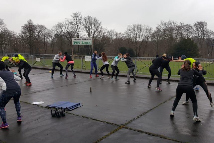 Outdoor Fitnesstraining in Essen