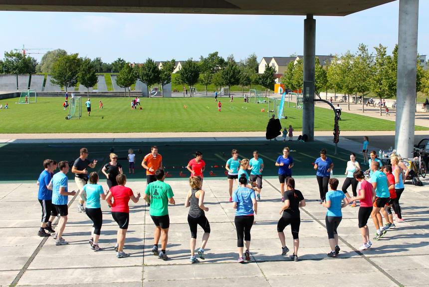 Fitness an der frischen Luft in Potsdam