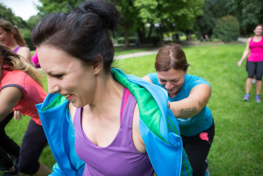 Motivation mit Trainingspartner