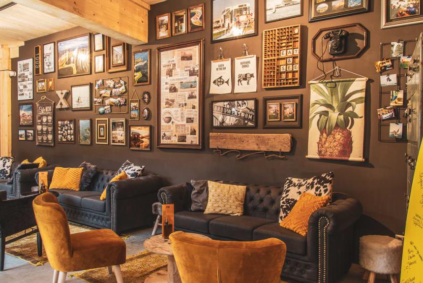 Eine Lounge mit Charakter