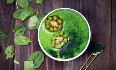 Gemüse in Smoothies - green smoothies