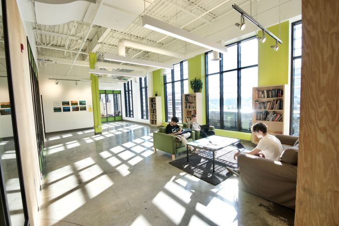 Around The Element Facility Where Students Are Welcome To Work Individually Or In A Small Group Take Break Socialize Before And After School