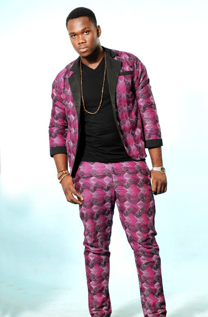 Ankara Blazer and Trouser