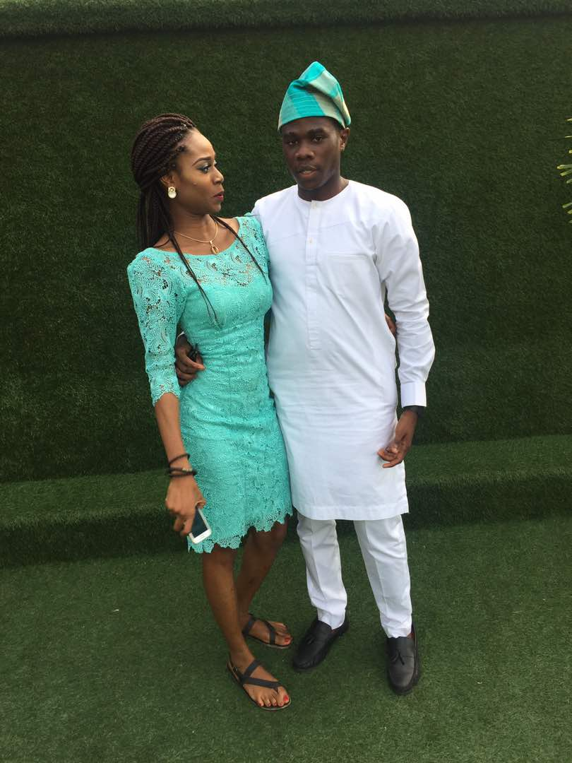 Lace and Atiku Native and Midi Dress