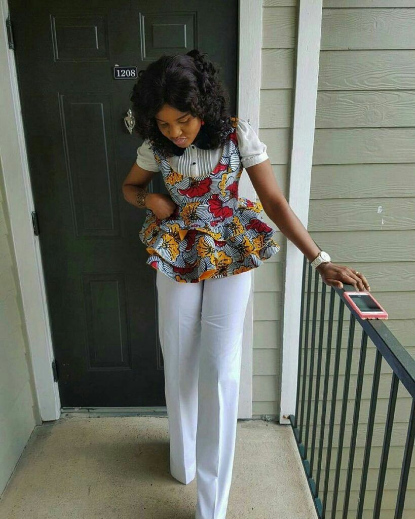 Ankara and Plain Top and Trouser