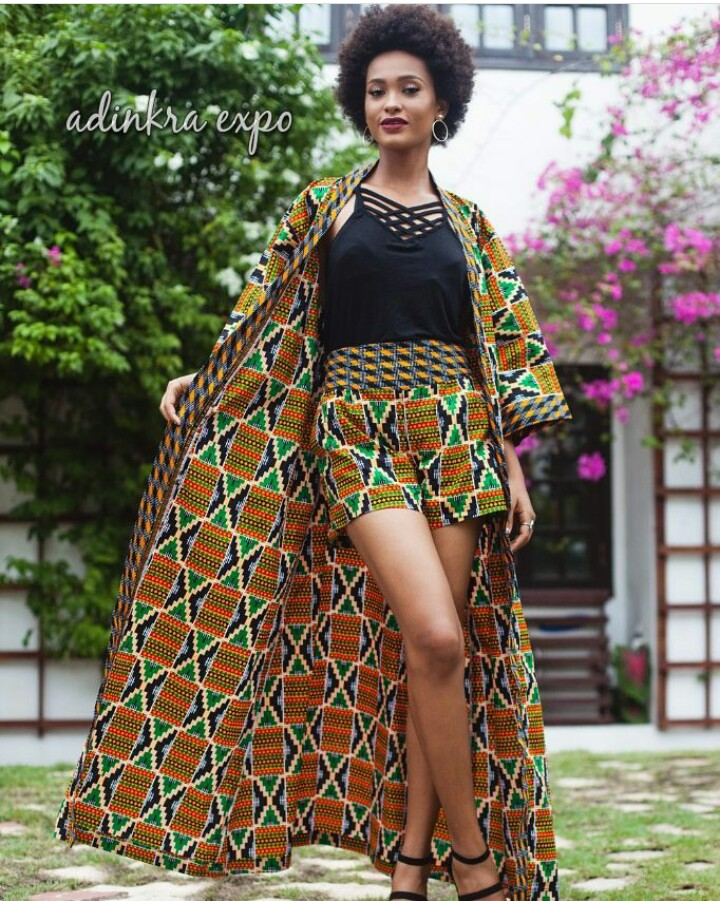 Ankara Jacket and Short