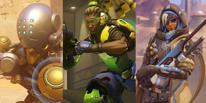 Ana, Zenyatta, and Lucio are the new top supports