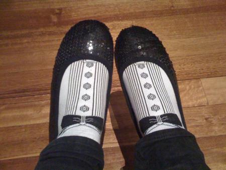 Tuxedo socks :)