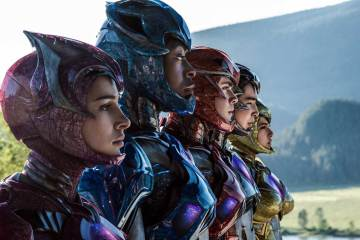 Power Rangers 2017 Movie Suits trailer do filme power rangers