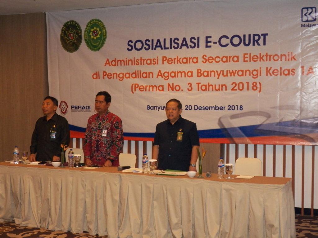 Sosialisasi E-Court