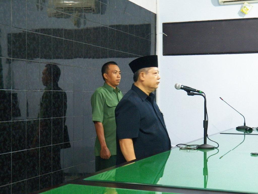 Pelantikan Panmud Gugatan M. Fauji