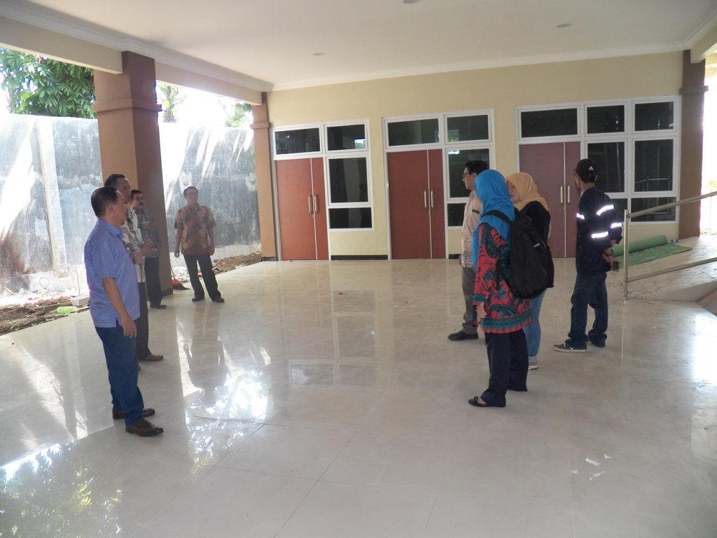 Rapat Proyek Finishing 2018