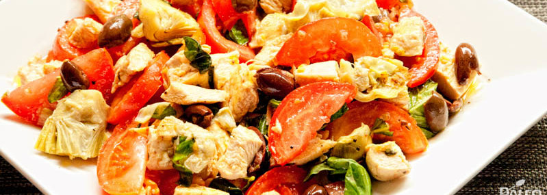 Chicken And Artichoke Panzanella