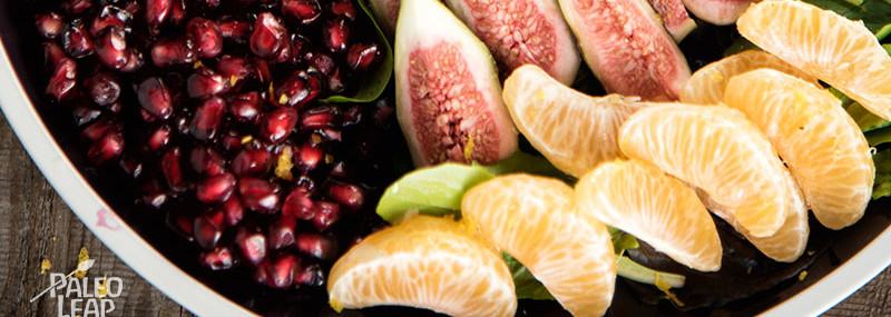 Pomegranate and Fig Salad