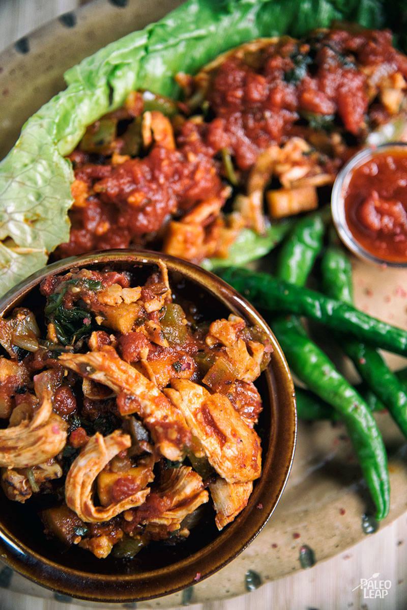 Veggie And Chicken Enchilada Casserole   Paleo Leap