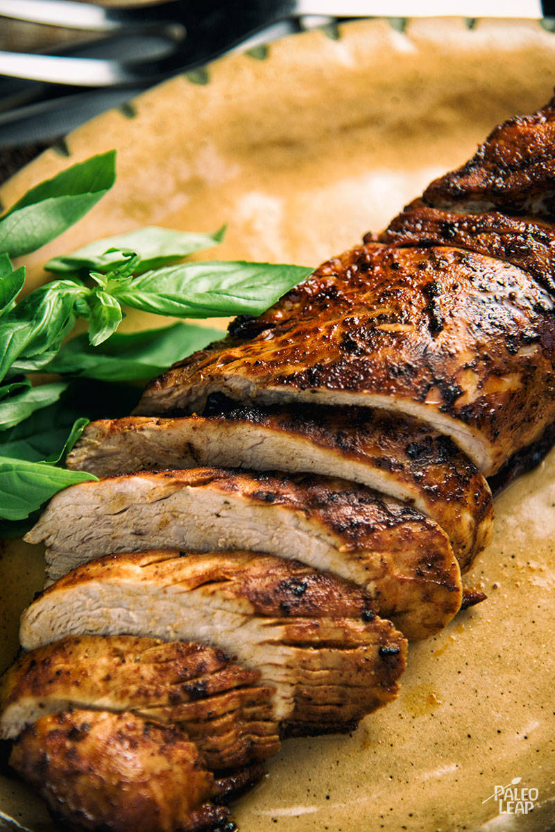 Serve this pork tenderloin with roasted carrots or sauteed spinach and ...