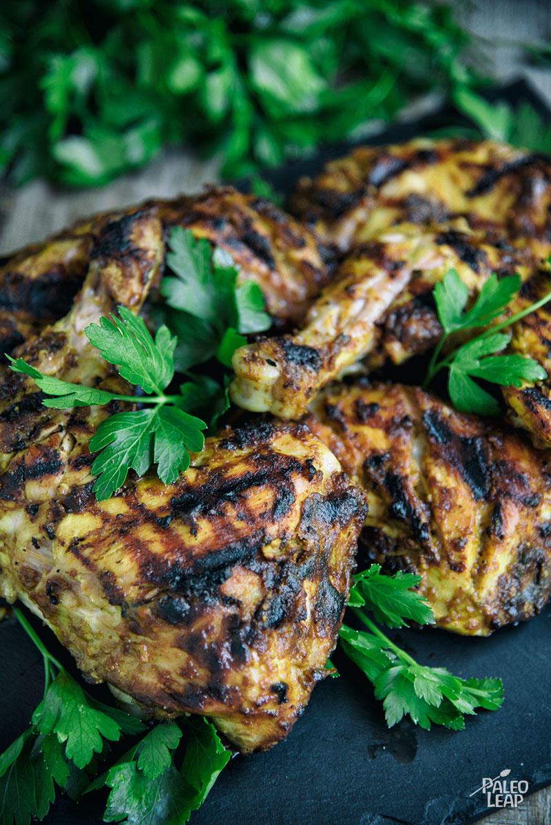 Tandoori-Style Grilled Chicken Recipe — Dishmaps
