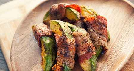 Bacon-Wrapped Avocado