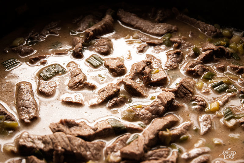 Beef preparation