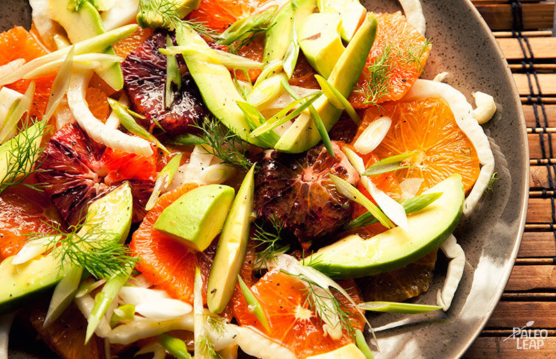 Citrus and Avocado Salad