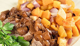 Pork Tenderloin With Pears And Butternut Squash