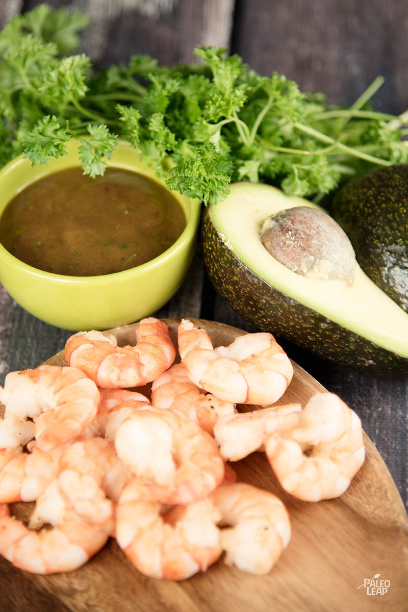 Shrimp And Avocado Salad | Living Paleo