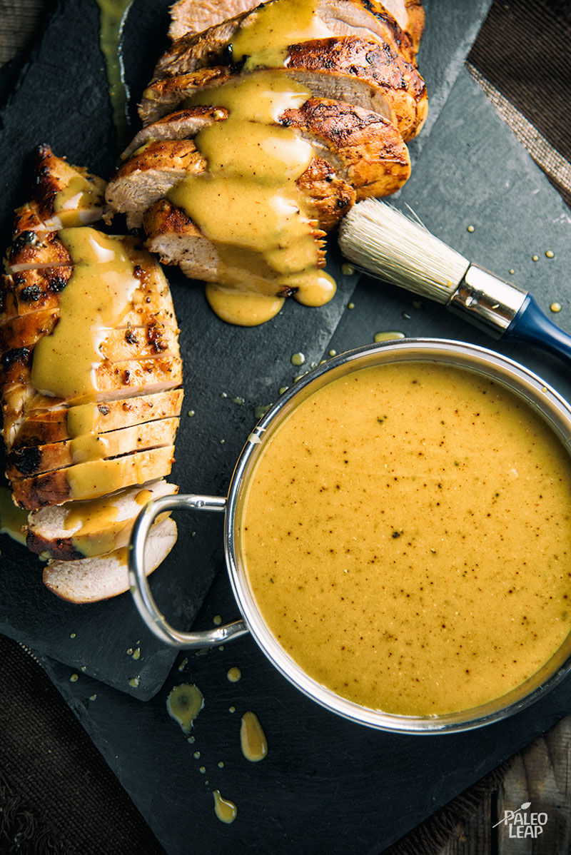 South Carolina-Style Mustard Barbecue Sauce Paleo Leap
