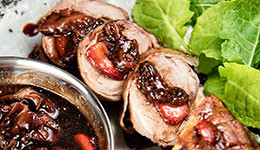 Pork Tenderloin With Strawberry Sauce