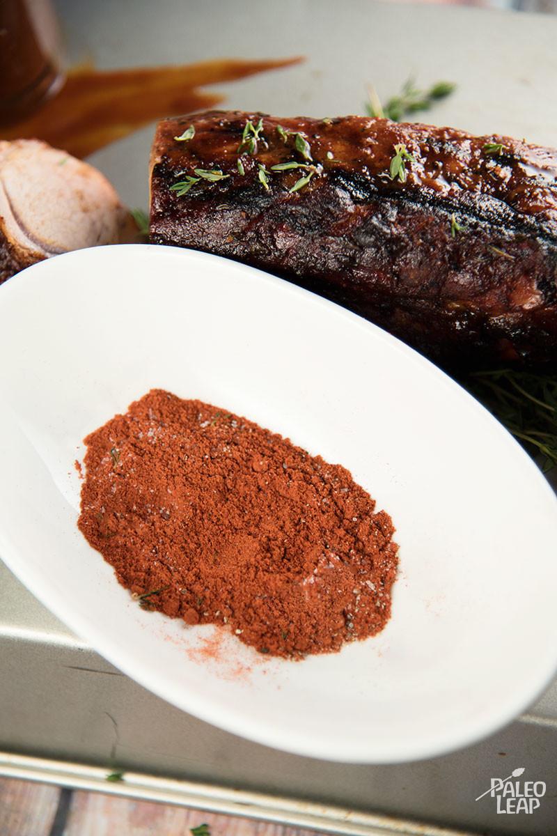 Pork Tenderloin With Smoked Paprika | Paleo Leap