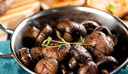 Roasted Mushrooms With Thyme