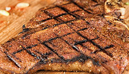 Spiced Grilled T-Bones