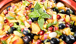 Blueberry-Peach Salsa