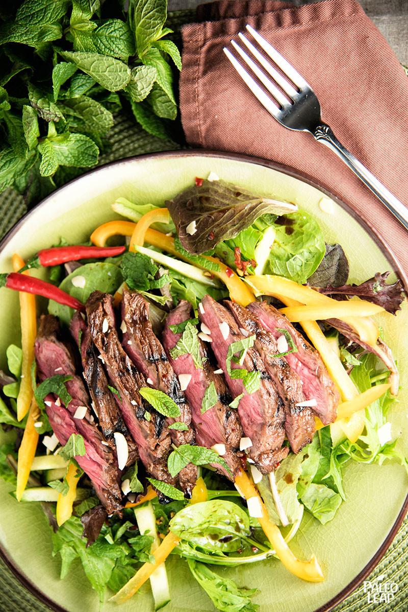 Thai-Style Steak Salad | Paleo Leap