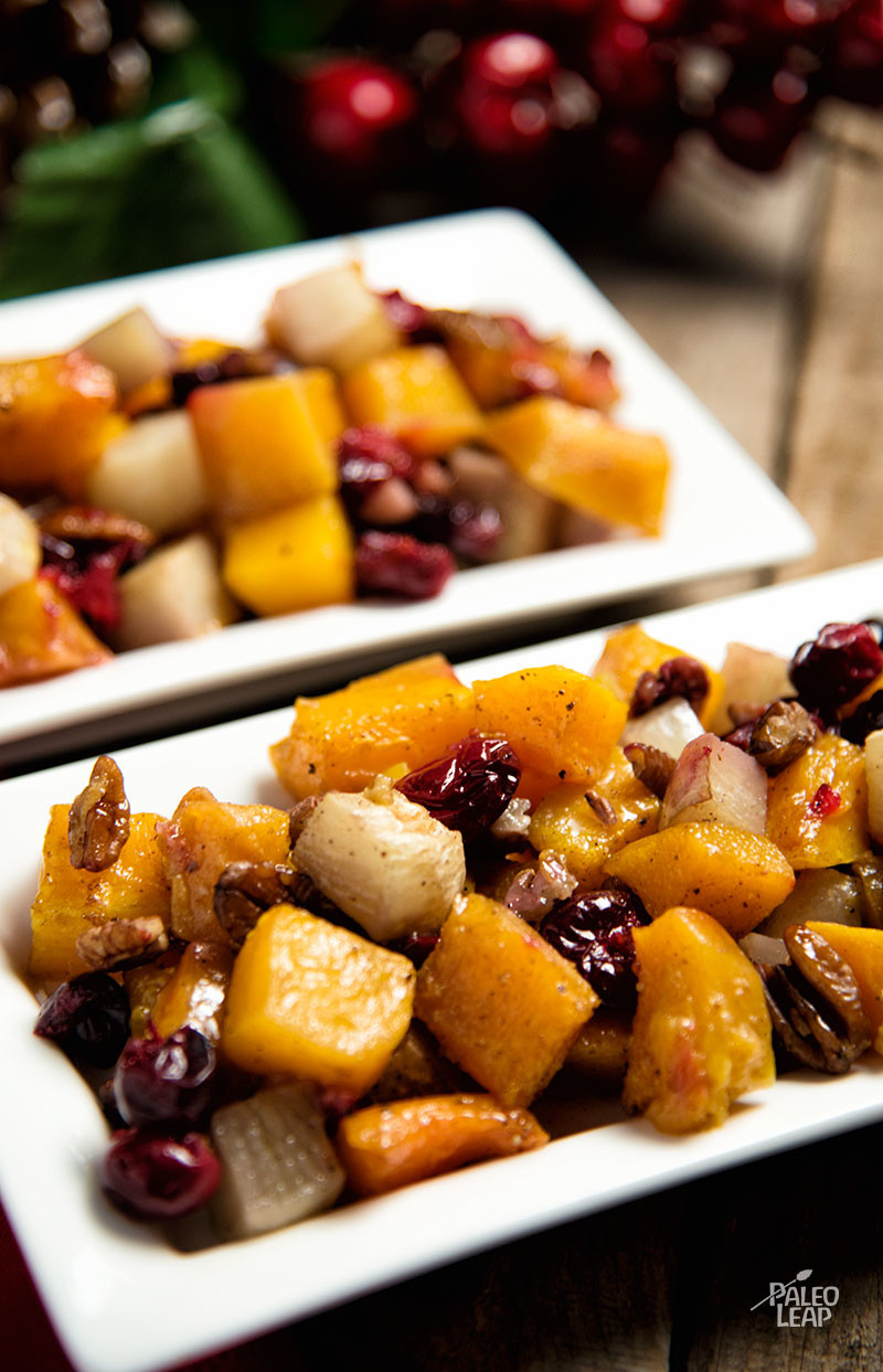 Roasted Butternut Squash And Turnip