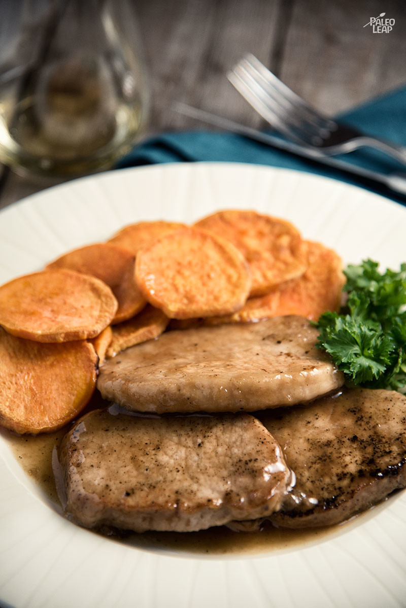 Old-Fashioned Slow Cooker Pork Chops