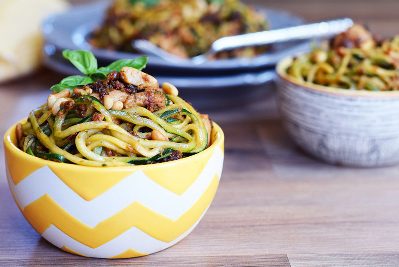 Sun Dried Tomato Pesto Chicken Pasta