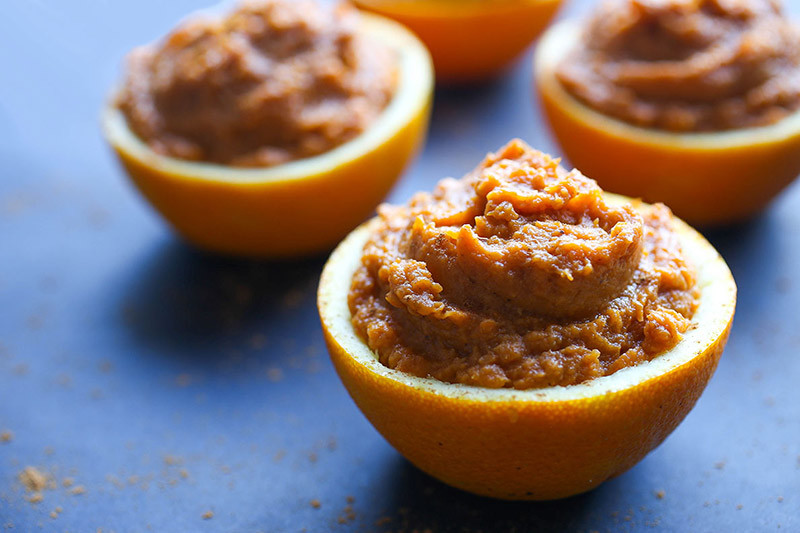 Paleo Sweet Potato Orange Cups