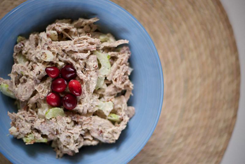 Thanksgiving Leftovers Turkey Salad