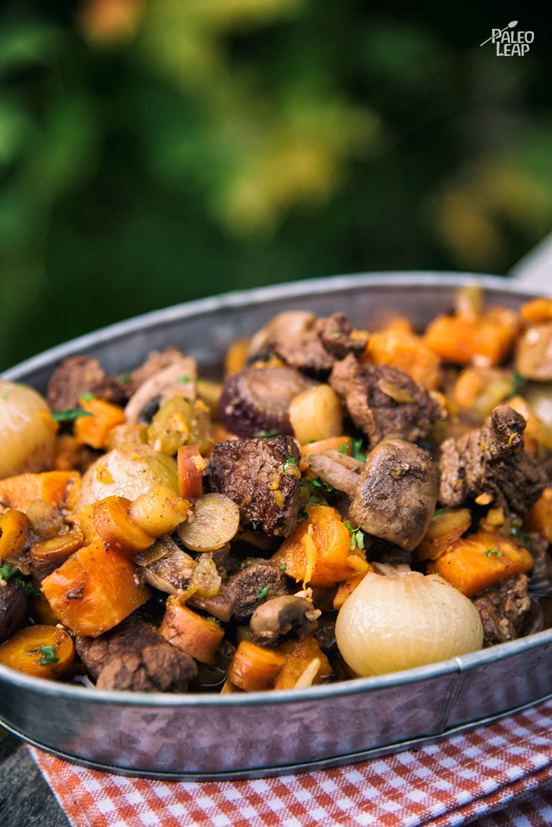 Slow Cooker Beef And Onion Stew