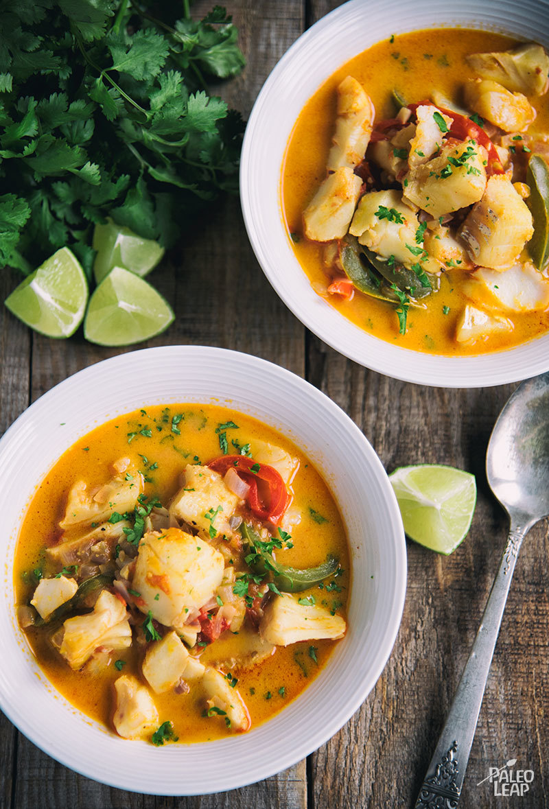 Brazilian style fish stew paleo leap for Fish soup recipes