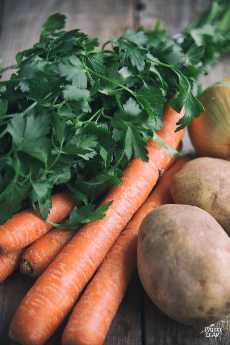 Carrot Soup preparation