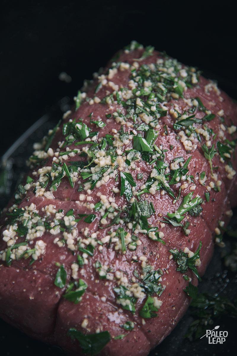 Roast Beef preparation