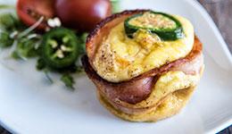 Jalapeño-Bacon Egg Cups