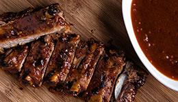 Maple-Barbecue Ribs
