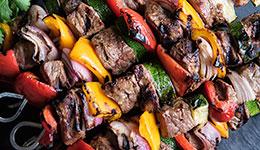 Simple Beef Shish Kabobs