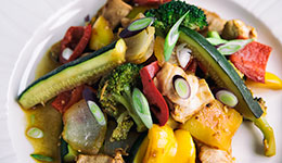 Orange, Chicken And Vegetable Stir-Fry