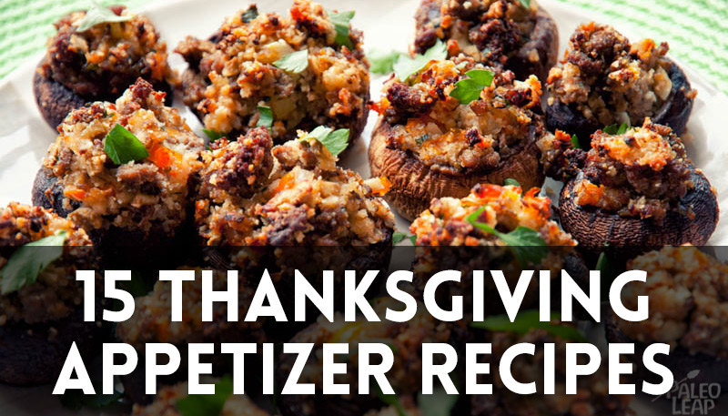 15 Thanksgiving Appetizer Recipes