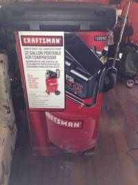 Craftsman air compressor with nail gun for sale brand new for Motor city pawn brokers detroit mi