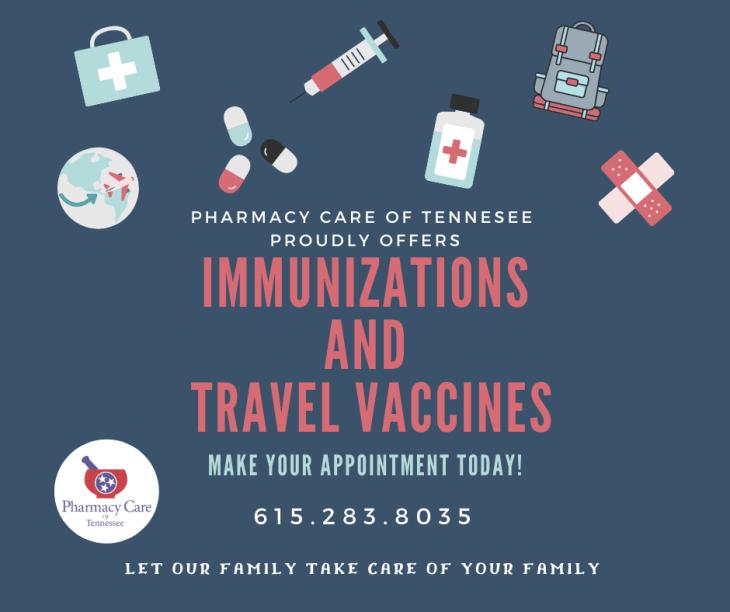Immunizations & Travel vaccines