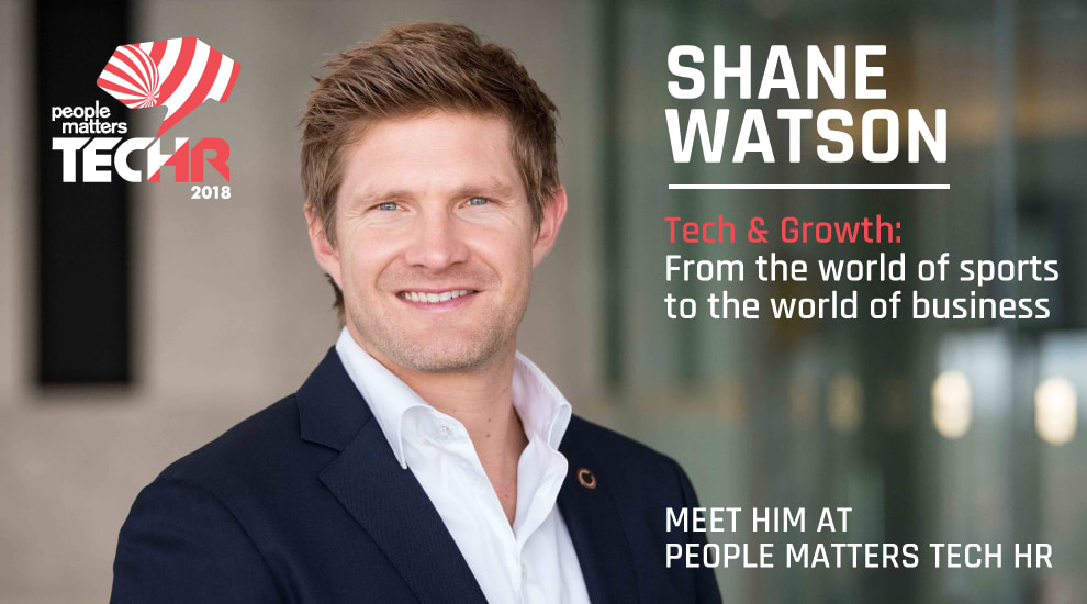 Shane Watson, Tech & Growth, From the world of sports to the world of business